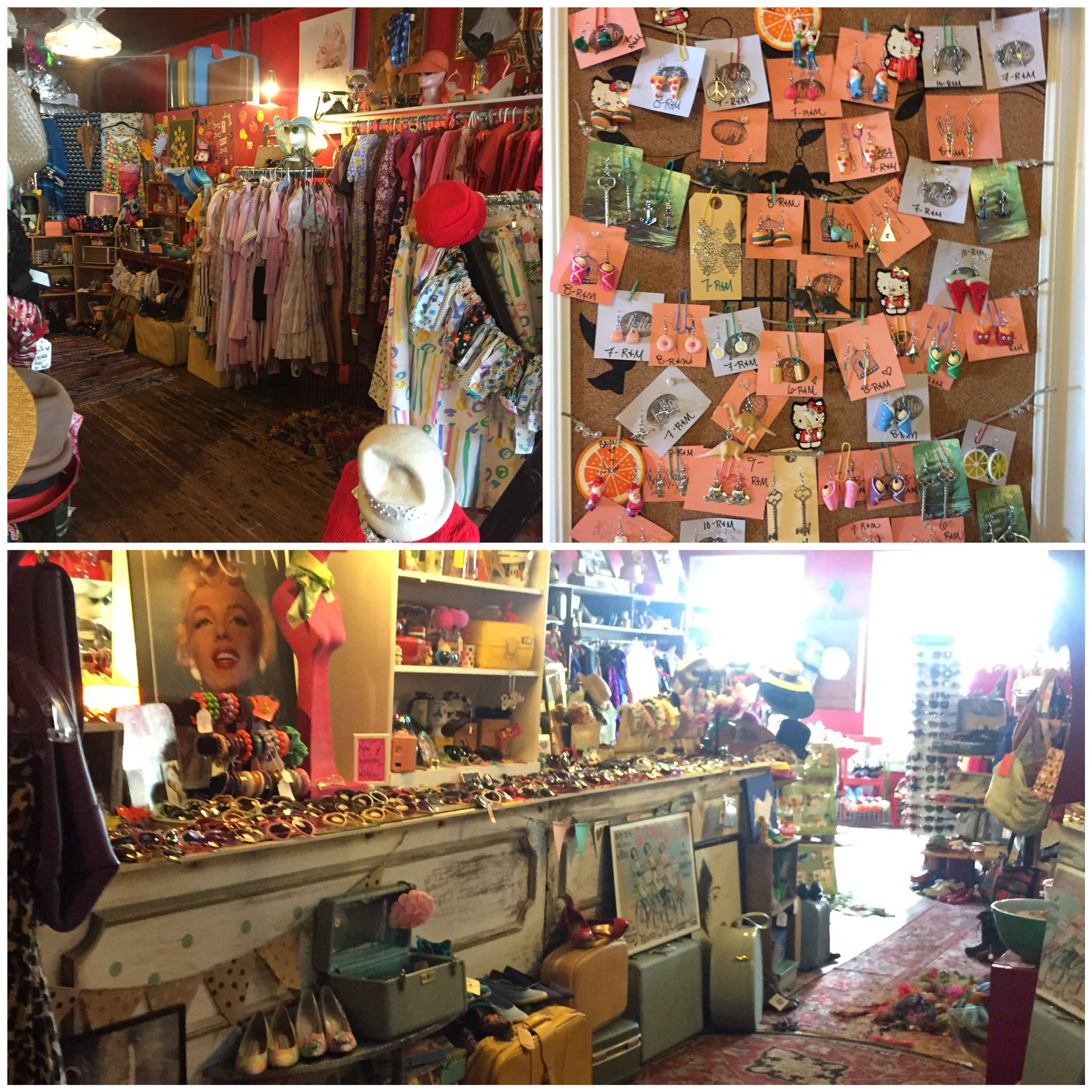 Vintage and Upcycled Shopping in Downtown Staunton