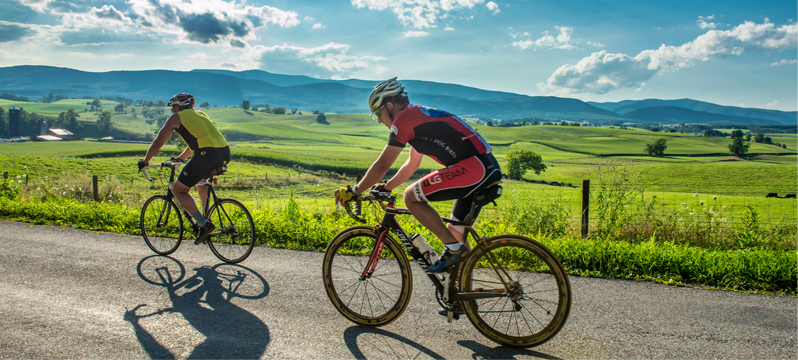 Biking in the Shenandoah Valley of Virginia - Outdoor Recreation