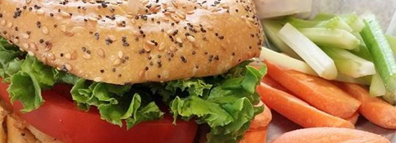 A sandwich from Nisa's Cafe