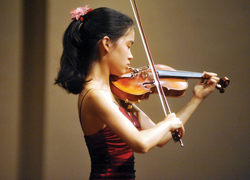 Heifetz International Music Institute Violinist