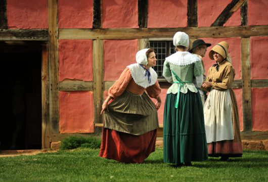 May Day at the Frontier Culture Museum