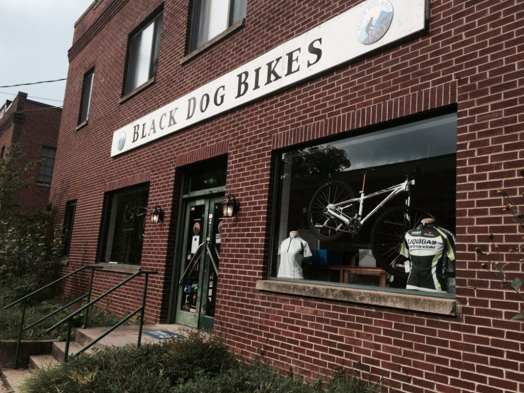 Black Dog Bikes in Staunton is a great resource for cycling in the region. Malee Oot
